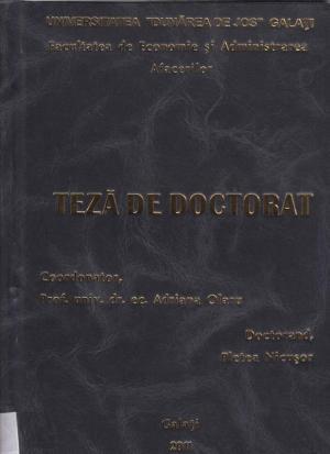Cover for Implicaţiile activităţii manageriale în instituţiile sistemului de apărare şi ordine publică în lupta anticorupţie: teză de doctorat