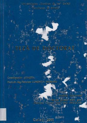 Cover for Contribuţii privind propagarea ultrasunetelor în medii stratificate şi lărgirea sferei de investigaţie şi acurateţii imaginii ecografice: teză de doctorat