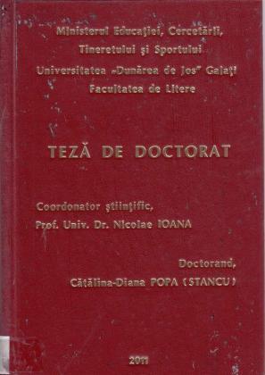 Cover for Matei Vişniec: dincolo de absurd: teză de doctorat