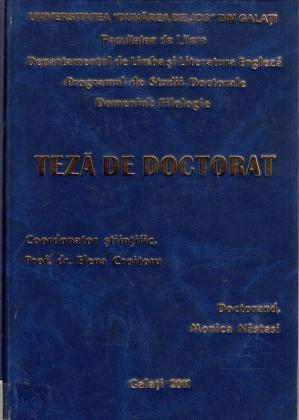 Cover for Traducerea, comunicare interculturală: teză de doctorat