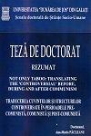 Cover for Traducerea cuvintelor și structurilor controversate  în perioadele pre-comunistă, comunistă și post-comunistă: teză de doctorat