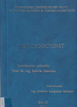 Cover for Biovalorificarea celulozei din hârtie reziduală prin utilizarea enzimelor şi a culturilor starter fungice: teză de doctorat