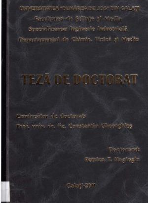 Cover for Contribuţii la studiul influenţei factorilor de mediu asupra unor obiecte de patrimoniu: teză de doctorat