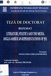Cover for Literatură, politică și mass-media. Reprezentări  anglo-americane ale atentatelor de la 11 septembrie 2001: teză de doctorat