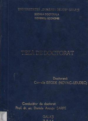 Cover for Impactul tehnologiilor informatice în procesele de decizie din economia bazată pe cunoaştere: teză de doctorat