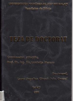 Cover for Contribuţii privind analiza conceptuală a reţelelor de traductoare ultrasonore cu aplicaţii în imagistica medicală: teză de doctorat