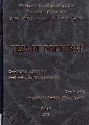Cover for Sistem integrat pentru stabilirea identităţii probelor ceramice: teză de doctorat