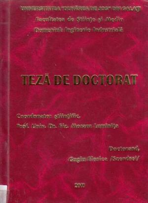 Cover for Contribuţii privind caracterizarea microstructurală a ceramicilor de patrimoniu folosind tehnici nedistructive: teză de doctorat