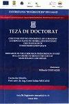 Cover for Cercetări privind fenomenul de coroziune a corpului navei  în vederea eficientizării cheltuielilor de întreținere  și reparații: teză de doctorat