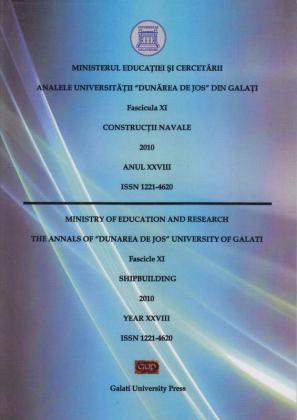 """Cover for Analele Universității """"Dunărea de Jos"""" din Galați. Fascicula XI, Construcții navale: Anul XXVIII. Galați: Galati University Press, 2010"""