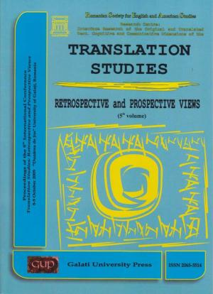 Cover for Translation Studies. Retrospective and Perspective Views: 5th volume, 8-9 October 2009