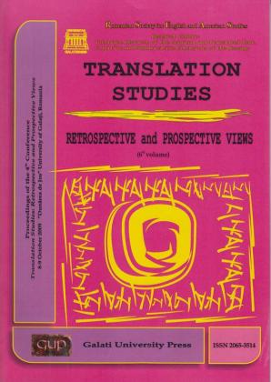 Cover for Translation Studies. Retrospective and Perspective Views: 6th volume, 8-9 October 2009