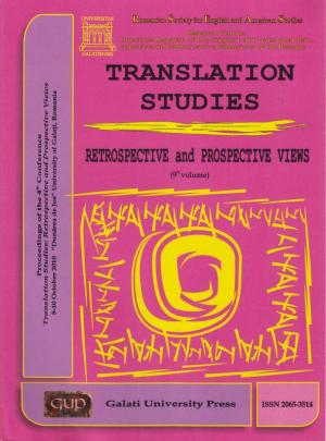 Cover for Translation Studies. Retrospective and Perspective Views: 9th volume, 8-10 October 2010