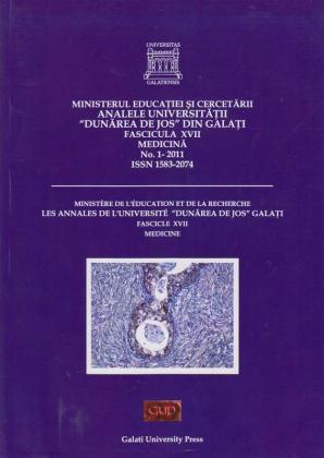 """Cover for Analele Universității """"Dunărea de Jos"""", Fascicula XVII, Medicină: No. 1, 2011"""