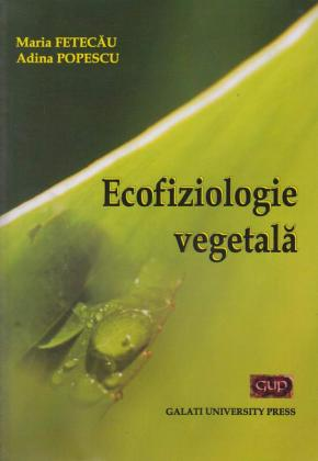 Cover for Ecofiziologie vegetală