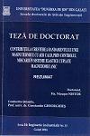 Cover for Controlul vibrațiilor de răspuns la echipamentele tehnologice în regim dinamic de funcționare: teză de doctorat