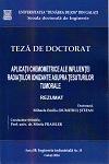 Cover for Conducerea optimală a sistemelor de fabricație  reconfigurabile: teză de doctorat
