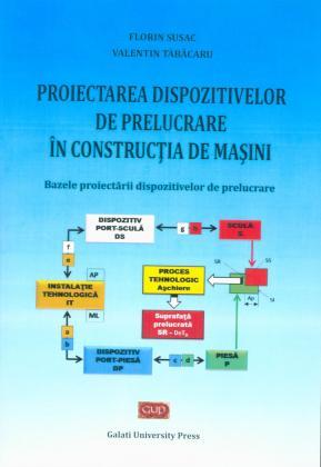 Cover for Proiectarea dispozitivelor de prelucrare  în construcția de mașini