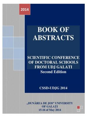 Cover for Școala doctorală - Book of abstracts