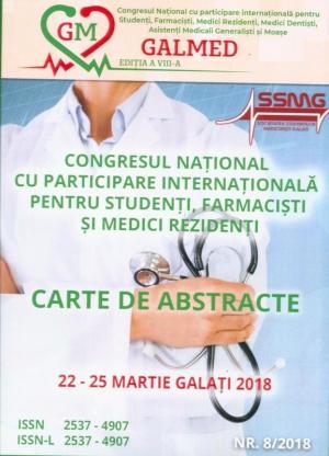 Cover for Carte de abstracte. Congresul Național cu participare internațională pentru studenți, farmaciști și medici  rezidenți