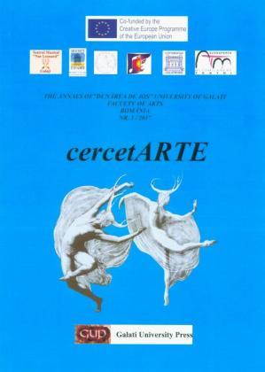 """Cover for The Annals of """"Dunarea de Jos"""" University of Galati,  CercetARTE"""