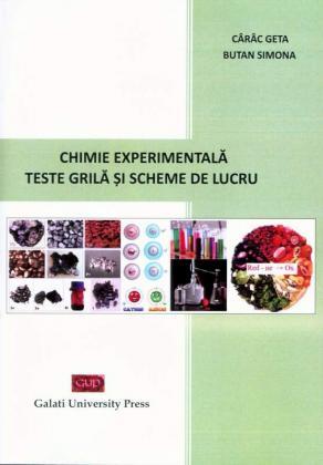 Cover for Chimie experimentală. Teste grilă și scheme de lucru