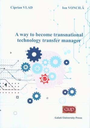 Cover for A way to become transnational  technology transfer manager