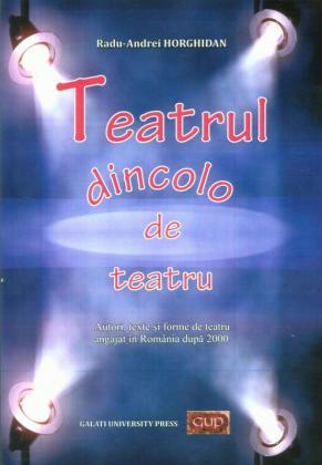 Cover for Teatrul dincolo de teatru