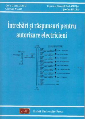 Cover for Întrebări și răspunsuri pentru autorizare electricieni