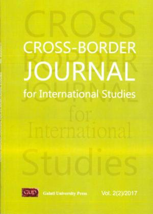 Cover for Cross-border Journal for International Studies,  Vol. 2(2), 2017
