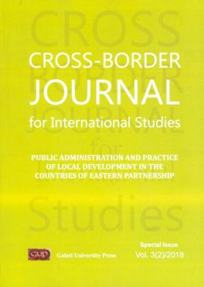 Cover for Cross-border Journal for International Studies,  Special Issue, Vol. 3(2), 2018
