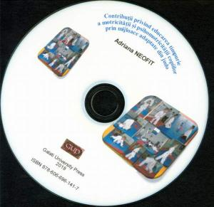 Cover for Contribuții privind educarea timpurie a motricității și  psihomotricității copiilor prin mijloace adaptate din judo