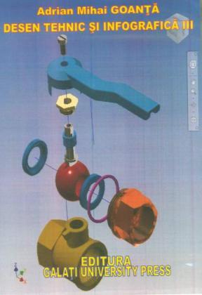 Cover for Desen tehnic și infografică III