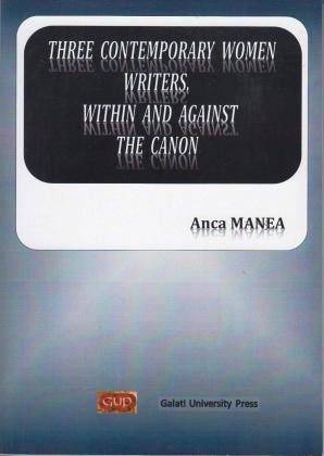 Cover for Three contemporary women writers  within and against the canon