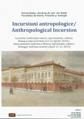 Cover for Incursiuni antropologice/Anthropological Incursion