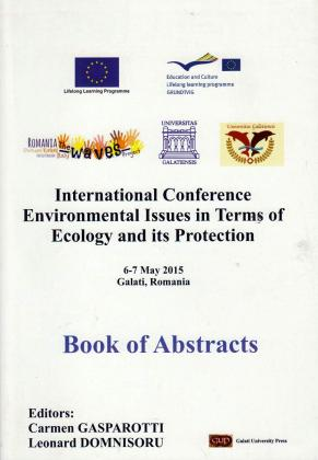 Cover for International Conference Environmental Issues in Terms of Ecology and its Protection: Book of Abstracts