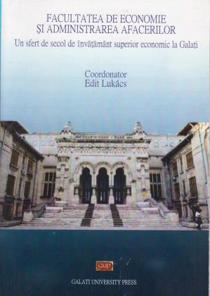 Cover for Un sfert de secol de învățământ superior economic  la Galați